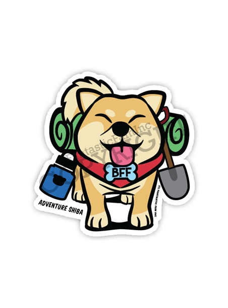 Adventure Buddy Vinyl Sticker