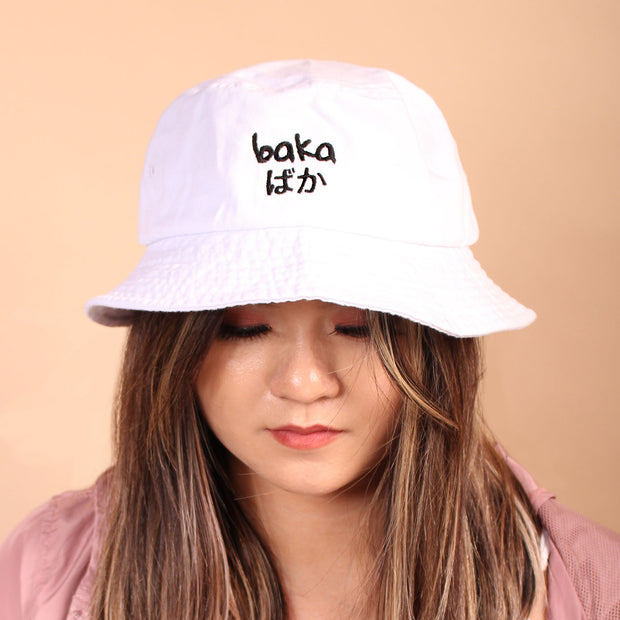 Baka Bucket Hat - White