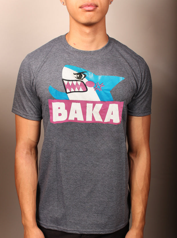 Baka Shark Unisex T-Shirt - Gray