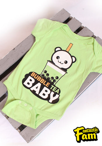 Bubble Tea Baby Kids Onesies
