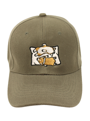 Sleeping Pillow Pups Baseball Cap - Gray
