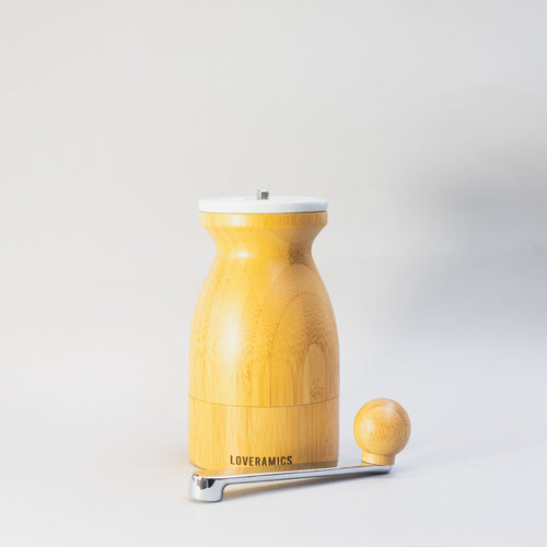 Bamboo Hand Grinder