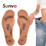 Acupuncture Reflexology Slimming Insoles