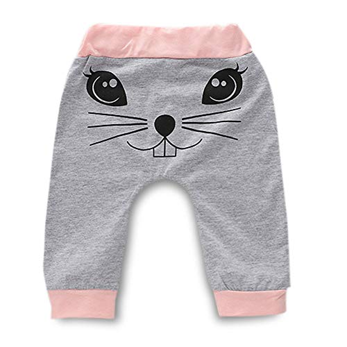 09cbcc539 ... Toddler Easter Clothes Infant Baby Girl Bunny Print Long Sleeve Romper  + Sweatsuit Pants Boy Spring ...