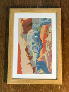 Christmas Bargains-Decorative Geological Map Art Print