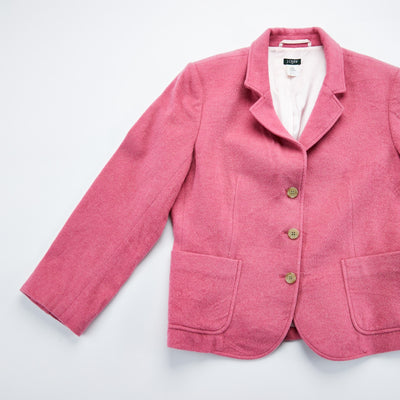 J. Crew Pink Wool Blazer from Retro Candy