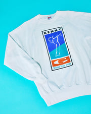 Vintage 1990 Kenny G World Tour Crewneck Sweater