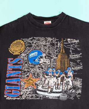 Vintage 90's NY New York Giants T-shirt from Retro Candy Vintage for sale