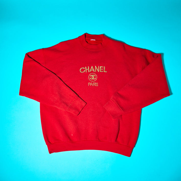 90s Chanel Paris Crewneck Sweater