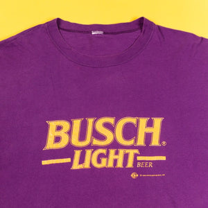 Vintage 1992 Busch Light T-shirt Copyright Anheuser-Busch from retro candy