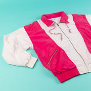 Vintage 80's/90's Nike Windbreaker (Pink/White) from Retro candy Vintage