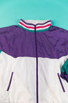 Vintage 80's Laura Katherine Windbreaker from Retro Candy Vintage 80's color block jacket