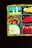 Vintage 1992 Fiesta Texas si flags T-shirt from retro candy