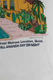 Vintage 1994 Melrose Place t-shirt Tultex tag size XL from Retro Candy