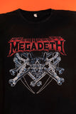 Vintage Megadeth T-shirt from retro candy