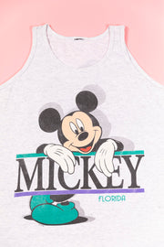 Vintage 90's Mickey Florida Tank Top single stitch from retro candy