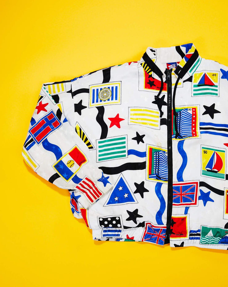 90s Tail Multicolor Stamp Jacket