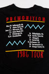 Vintage 1986 Peter Frampton Tour T-shirt authentic single stitch tee from retro candy vintage