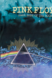 Vintage 2001 Pink Floyd Dark Side of the Moon Tie-dye T-shirt