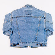 Vintage 80's Levi Strauss & Co. Denim Jacket 57508 0810 Retro Candy Vintage