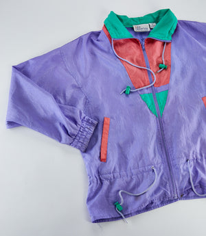 Vintage 90's Clipperbay Windbreaker Jacket from Retro Candy