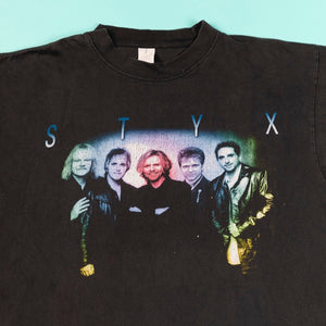 Vintage 1999 Styx Brave New World T-shirt from Retro Candy