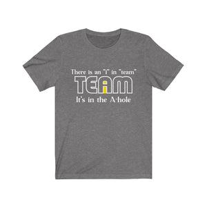 there is an i in team
