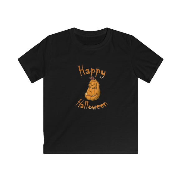 Happy Halloween (Kids Softstyle Tee)