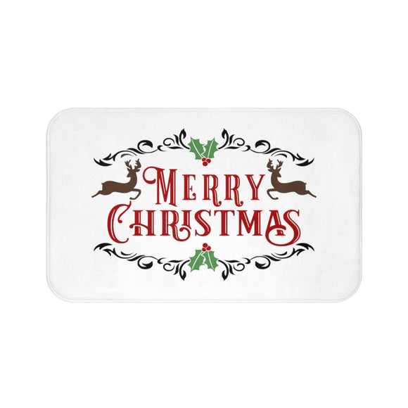 Merry Christmas Bath Mat