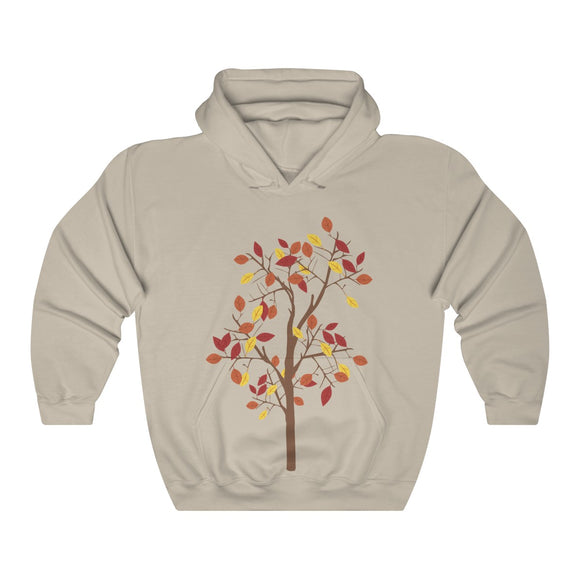 Fall Tree Hooded Sweatshirt