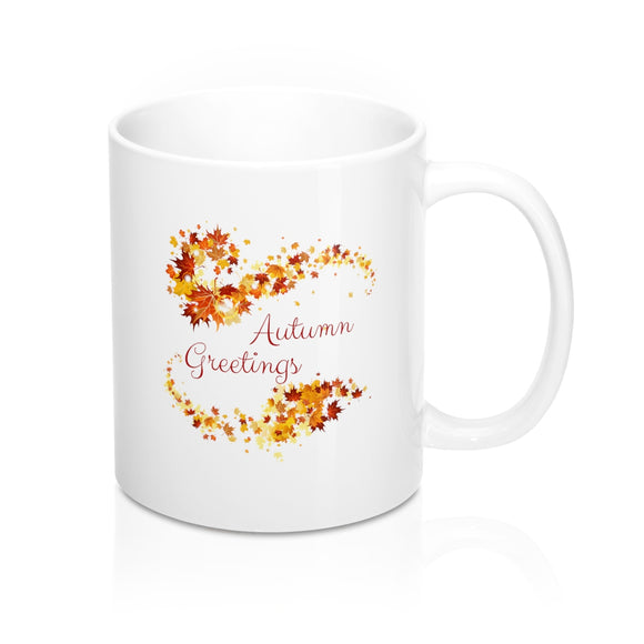 Autumn Greetings (V3) Mug 11oz