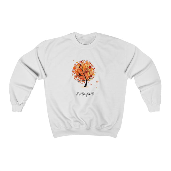 Hello Fall Unisex Heavy Blend™ Crewneck Sweatshirt