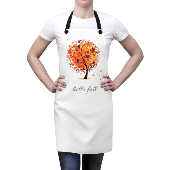 Hello Fall Apron