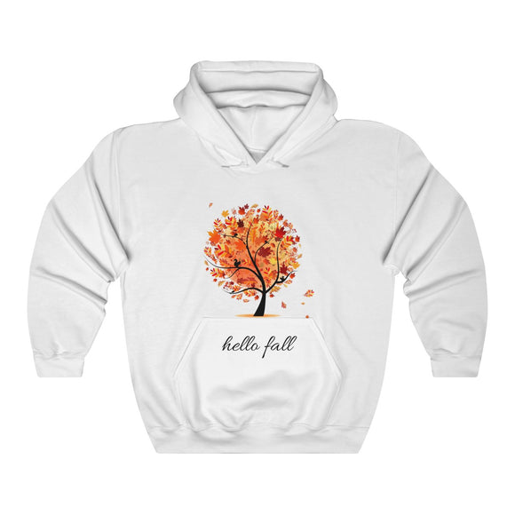Hello Fall Hooded Sweatshirt