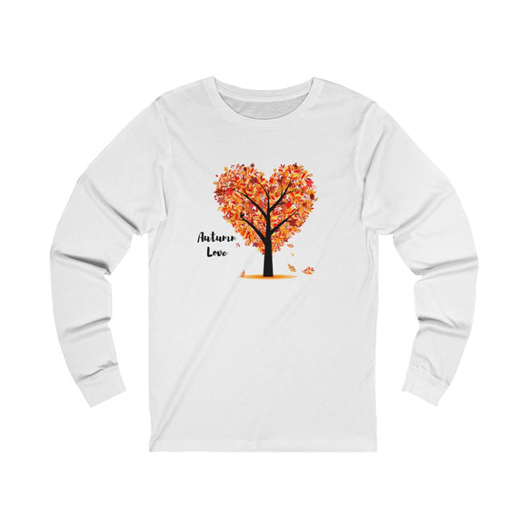Autumn Love Unisex Jersey Long Sleeve Tee