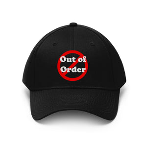 Out of order cap hat