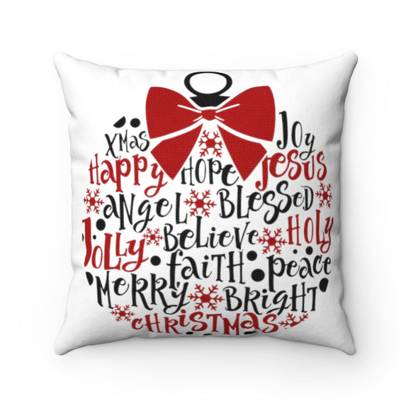 Word Ornament Pillow