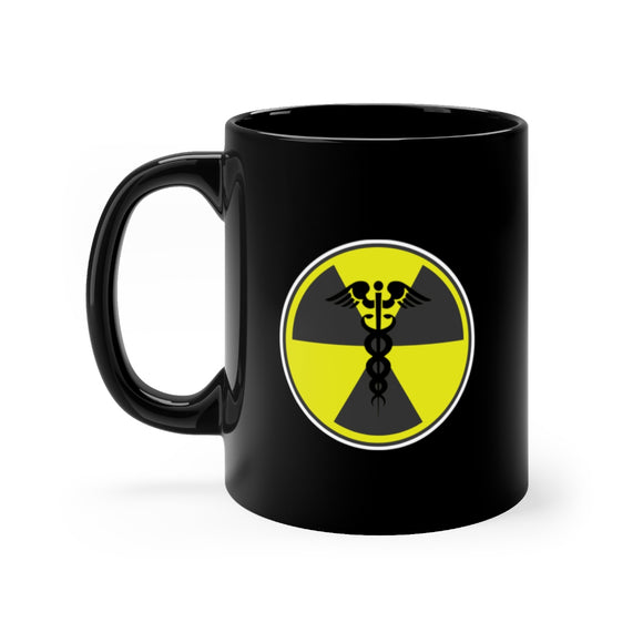 Rad Tech Caution Logo Mug