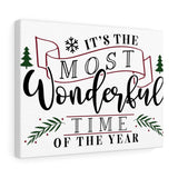 The Most Wonderful Time of the Year Canvas Wrap