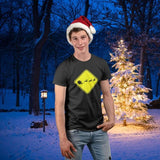 Caution Santa Reindeer Crossing Christmas Funny T-Shirt Tee