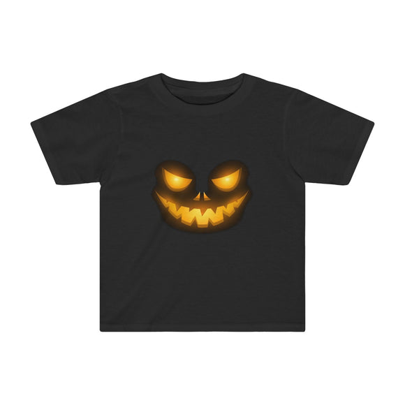 Creepy Face Halloween Jack O' Lantern T-Shirt