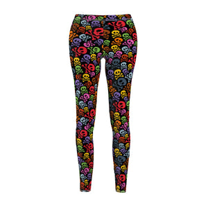 Color Skulls Leggings