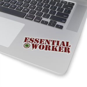 COVID-19 coronavirus essential worker sticker