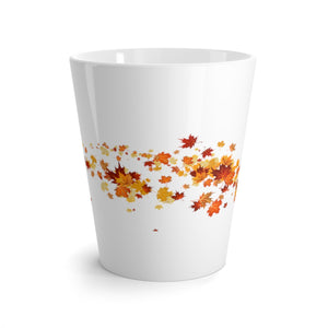 Fall Leaves (Wrap Around) Latte mug