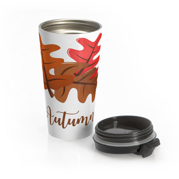 Autumn Stainless Steel Travel Mug