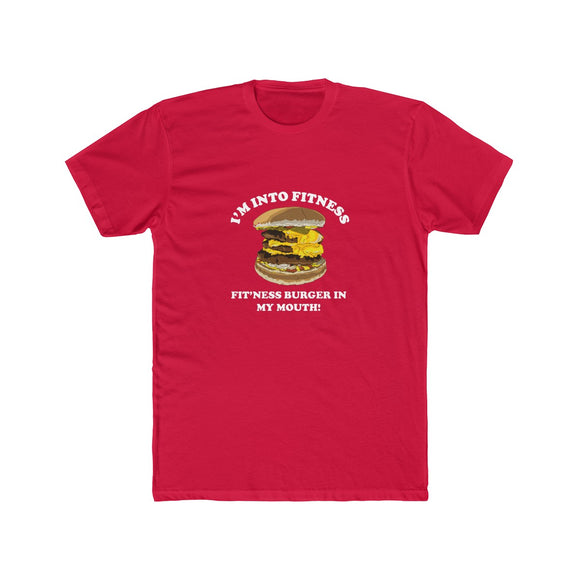 Burgertime Men's Cotton Crew Tee