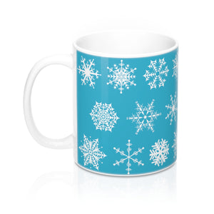 Winter Holiday Snowflakes Mug