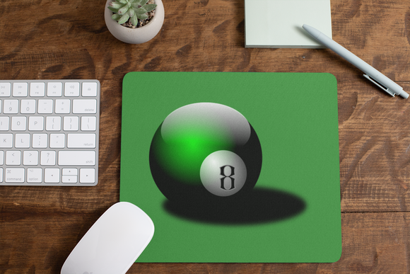 8 Ball mousepad mouse pad eight ball