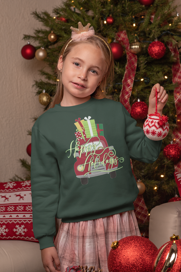 Kid's holiday sweatshirt