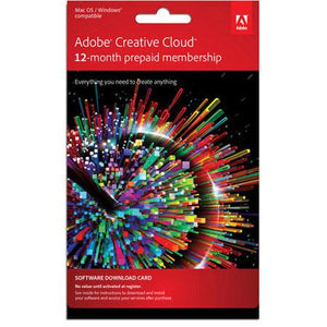 Adobe Creative Cloud - All Apps - 12 month subscription